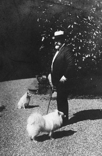König Wilhelm II.  mit seinen Spitzen: Im November 1918 musste er abdanken. Foto: Archiv Stzn