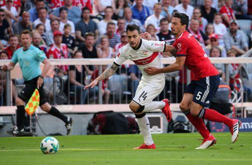 Auch an diesem Samstag werden sich VfB und Bayern nichts schenken. Foto: Pressefoto Baumann