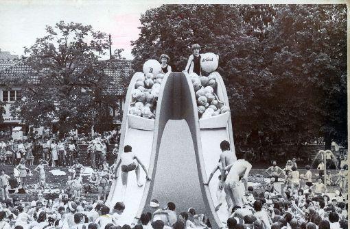 Historische Aufnahme aus dem Jahr 1956. Foto: Archiv