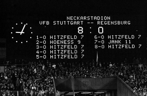 Als Ottmar Hitzfeld sechsmal für den VfB Stuttgart traf