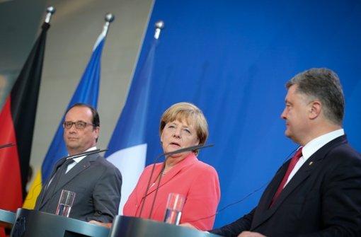 Prinzip Hoffnung im Ukraine-Konflikt