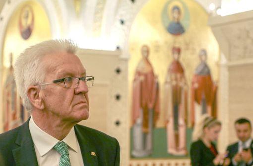 Kretschmann macht den Serben Mut