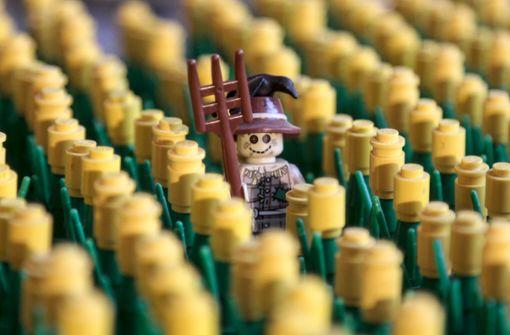 10 000 Besucher bei den Legokunstwerken