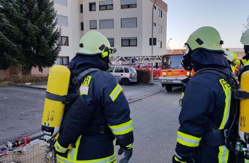 Rentnerin wird bei Brand leicht verletzt