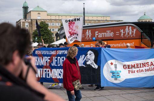 AfD bleibt Demo gegen rechts fern