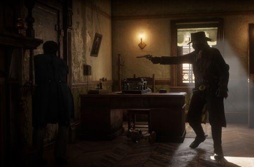 """""""Red Dead Redemption 2"""" erzählt in atmosphärischen Bildern eine Geschichte von Verrat und Tod... Foto: Rockstar Games"""