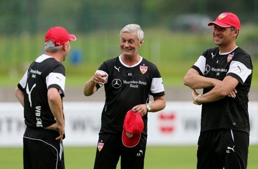WM-Fahrer zurück im VfB-Training
