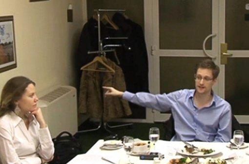 Snowden-Vertraute in Berlin