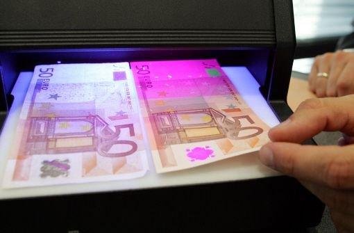 Der Euro ist sicher - vor Fälschern