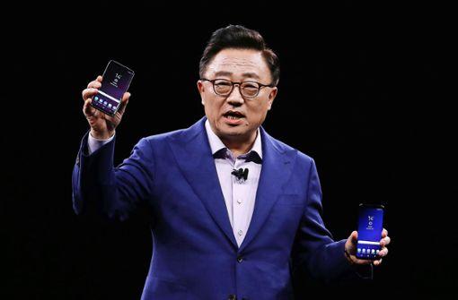 Samsungs neues Galaxy S9 setzt  auf die intelligente Kamera