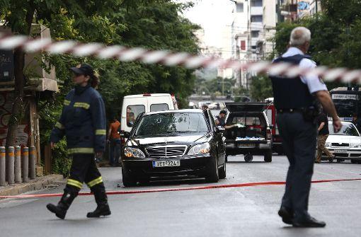 Früherer griechischer Regierungschef Papademos verletzt