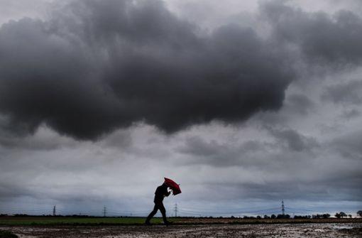 DWD warnt vor Starkregen