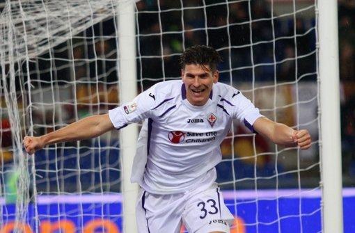 Gomez schießt Florenz ins Halbfinale