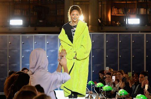 Rihanna präsentiert neue Puma-Sportkollektion