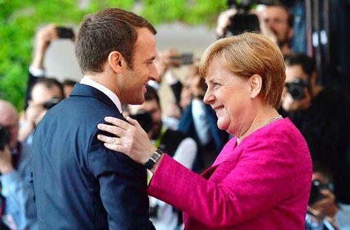 Merkel feiert neue Zuversicht und Tatkraft der EU