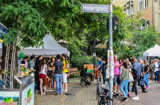 Auch am Samstag ist beim Heusteigviertelfest in Stuttgart wieder jede Menge geboten. Foto: 7aktuell.de/Friedrichs