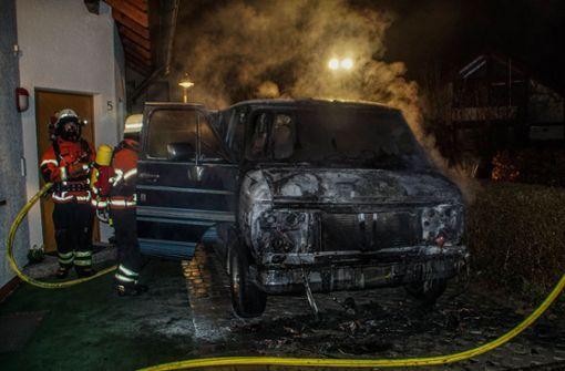 Polizei vermutet Einzeltäter hinter Brandserie