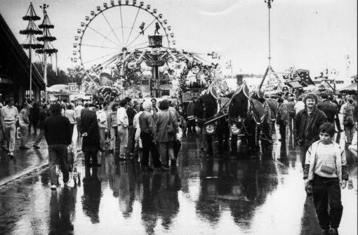 Volksfest war schon immer mehr als eine Zecherei