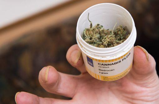 Nachfrage nach Cannabis auf Rezept gestiegen