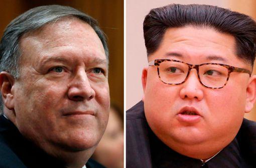 CIA-Chef Pompeo soll Nordkoreas Machthaber Kim getroffen haben