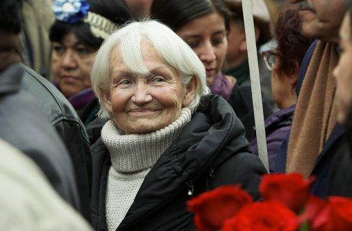 Trauerfeier in Santiago de Chile