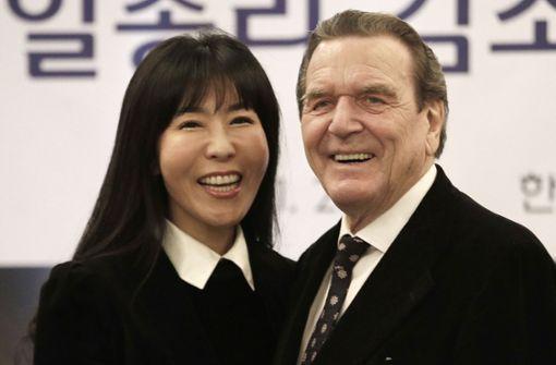 Altkanzler Schröder plant ungewöhnliche Hochzeitsreise