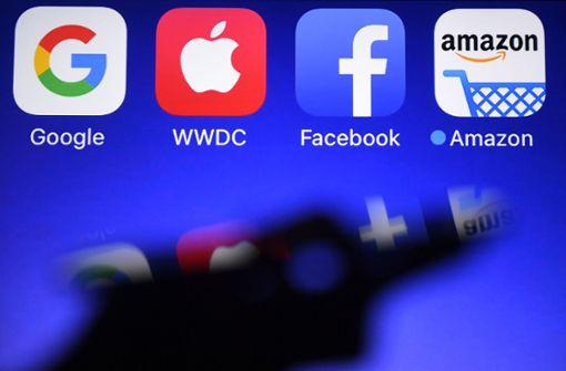 US-Digitalkonzerne sind wertvollste Unternehmen der Welt