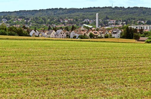 Im Gebiet Korntal-West sollen einmal rund 800 Menschen leben. Die große Frage lautet: Wann? Foto: factum/Weise