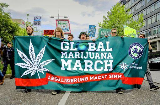 Spaziergang für die Legalisierung