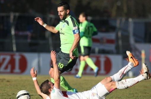 Kickers ringen VfB II nieder
