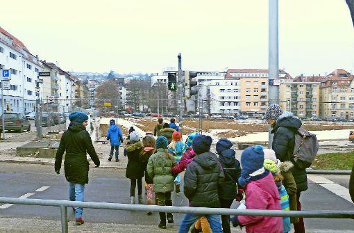 Saloppe Stadtplanung von Kinderhand