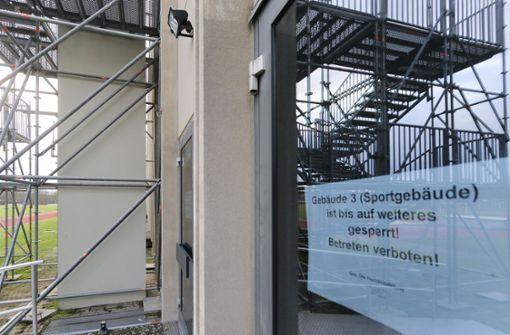 Im Dezember 2017 musste die Halle schon einmal gesperrt werden. Foto: factum/Archiv