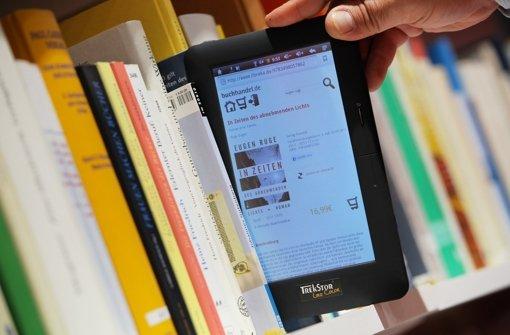 Buchhändler verzeichnen eine Online-Umsatzzuwachs von 40 Prozent Foto: dpa