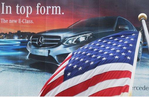 US-Protektionismus überschattet Pläne der Autobauer