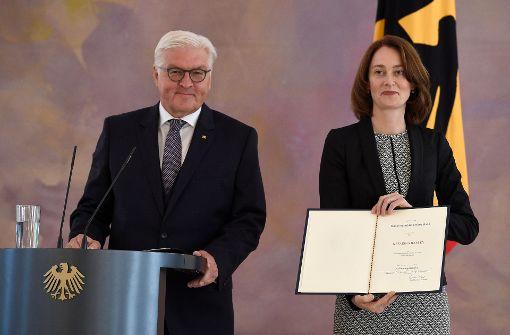 Barley wird neue Familienministerin - Heil Generalsekretär