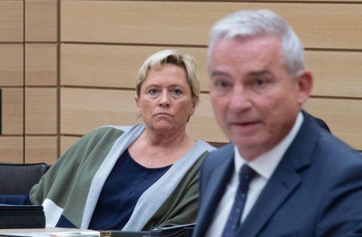 Kultusministerin Susanne Eisenmann und Innenminister Thomas Strobl – auf dem Weg zur CDU-Spitzenkandidatur im Landtagswahlkampf 2021? Foto: dpa