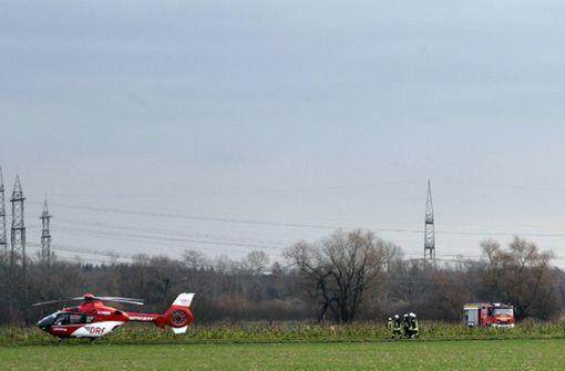 Mit Flugzeug kollidierter Hubschrauber war auf Trainingsflug