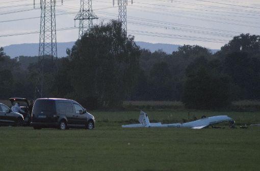 Am Sonntag starb eine Person beim Absturz des Segelflugzeugs in Hockenheim. Foto: 7aktuell.de/Franziska Hessenauer
