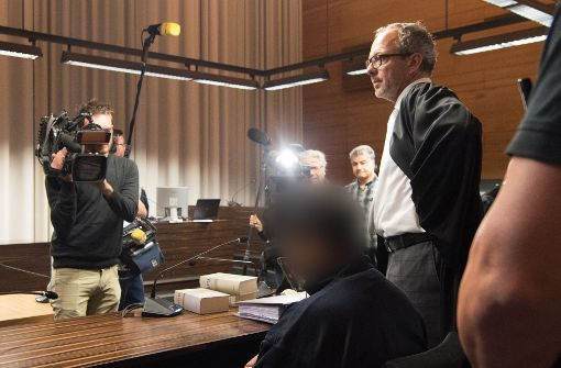 Hussein K. muss sich vor dem Landgericht Freiburg wegen Mordes verantworten. Foto: dpa