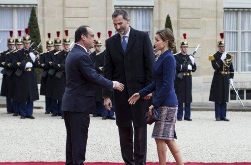 Spanisches Königspaar bricht Besuch ab