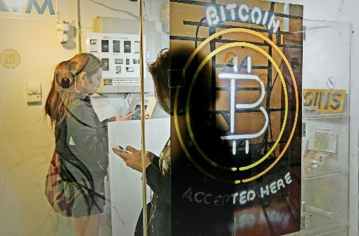 Schwankungen des Bitcoins werden stärker