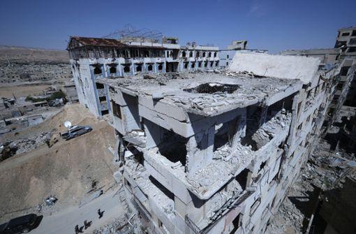 Chemiewaffen-Experten beginnen Untersuchung in Duma