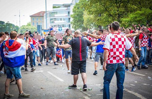 Dieses Video zeigt die kroatischen Helden von Stuttgart