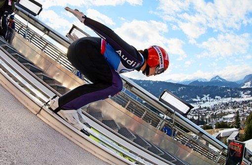 Sie ist Olympiasiegerin und Doppelweltmeisterin: In dieser Saison fehlt Carina Vogt aber noch das richtige Fluggefühl Foto: dpa