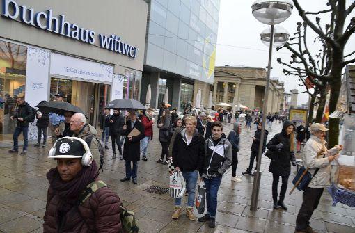 Am Dienstag haben Wittwer und der Branchenriese Thalia ihren Zusammenschluss verkündet.  Foto: Andreas Rosar Fotoagentur-Stuttg
