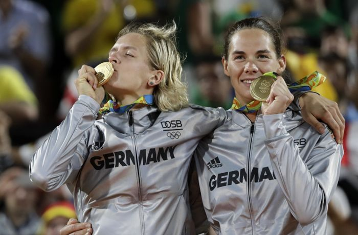 Kommentar zum Beachvolleyball-Team: Beach-Party
