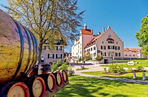 Domizil auf 1000Meter Höhe im Schwarzwald: die Rothaus-Brauerei Foto: RothausAG