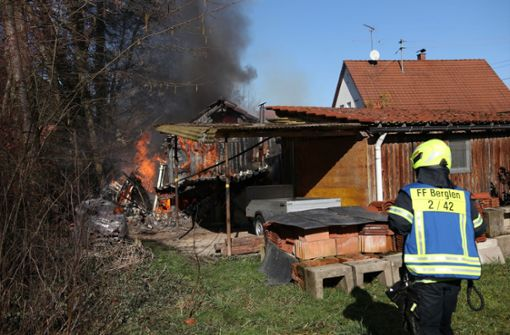 Wie genau es zu dem Brand kam, ist aktuell noch nicht bekannt.  Foto: SDMG