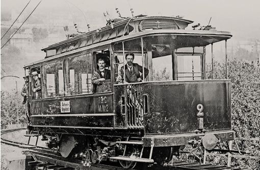 Die erste Zacke fuhr mit Dampf.  Foto: SSB-Archiv