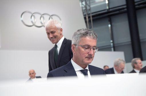 Audi-Chef Stadler widerspricht Ablöse-Spekulationen